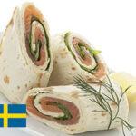 Salmon Wrap IKEA Imitation