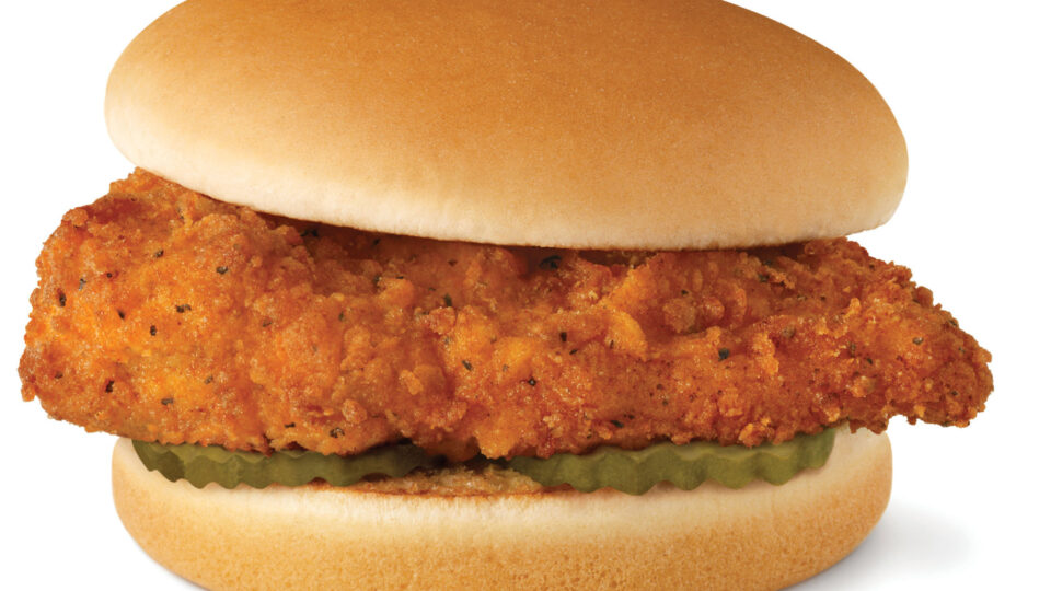Imitation Wendy's Spicy Chicken Sandwich