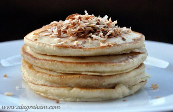 Choc-Co-Nut Pancakes