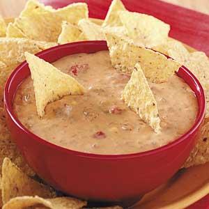 Easy Salsa Cheese Dip