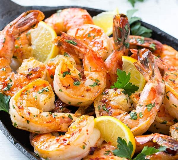 Spicy Shrimp with Citrus Dipping Sauce