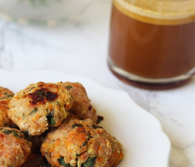 Breakfast Sausage Chicken Poppers (Paleo, Whole 30, AIP)