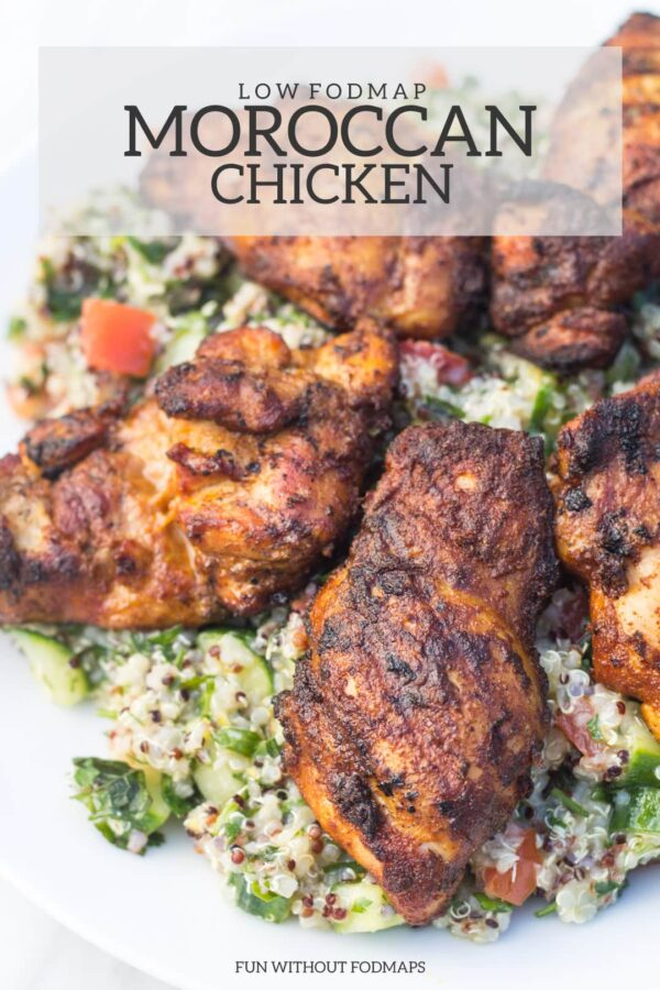 Low Fodmap Moroccan Chicken